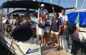 Coni Cosenza per Sport d'aMare: a Cetraro si naviga a gonfie vele